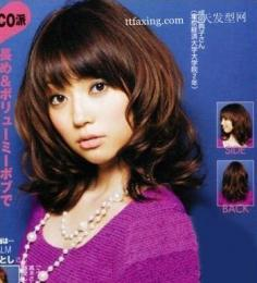 春日好印象日系发型 2012夏天流行发型韩国女生