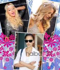 明星发饰低调夸张 今年最流行的发型女