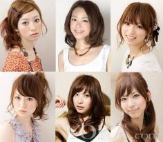 告别梨花头~2012年女生流行发型~可爱