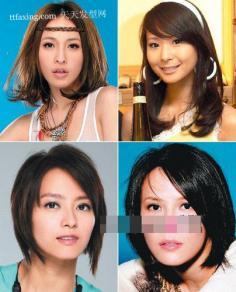 方脸怎样扎头发好看 明星发型+彩妆人气逛街发型