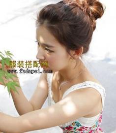 韩国发型扎法 7款韩国流行女生发型扎法图解