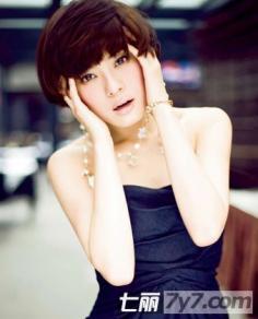 蘑菇头短发发型图片 2012蘑菇头短发发型图片精选