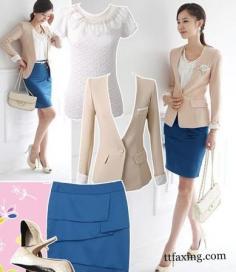 职场女装搭配参考 5种装扮尽显女人味