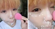 山寨李小璐教你大眼妆画法 只需5步就能打造魅力大眼