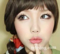 魅惑韩国眼妆画法分享 轻松打造韩式大眼妆