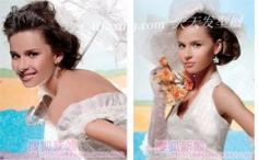 2014年盛夏新娘的4款幸福妆容