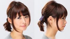 短发怎么扎简单好看 自己DIY扎好看的短发