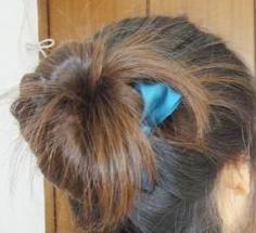 教你丸子头盘发器怎么用 简单6步扎出活力丸子头
