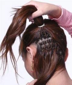 最简单盘发技巧 只需5步教会你花样盘发器的使用方法