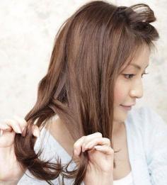 超甜美减龄丸子头编发