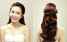 韩式欧式大比拼 新娘发型艳全场