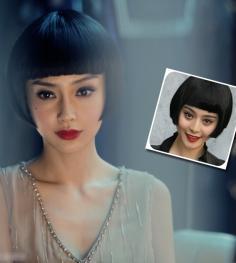 各种甜美可爱的齐刘海波波头发型