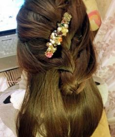 【步骤】韩式名媛半盘发凸显气质