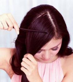 教你长卷发怎么扎,好看的甜美扎发
