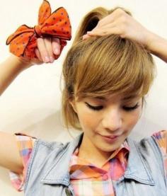 3分钟快速减龄!韩式减龄短发扎发