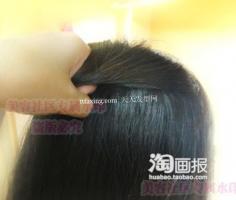 温柔韩式盘发不毛糙效果 最流行的梳头方法
