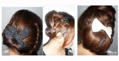 美发DIY春季美发显年轻长脸型适合发型