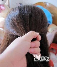 韩式编发与可爱盘发必备美 2012年最流行的头发颜色