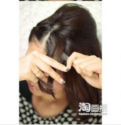精致极简盘发不重样 中年2012流行什么发型