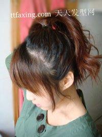 日式丸子头发型DIY 海量图示教程