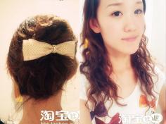 韩式盘发图解~简单就是美 发型DIY新作