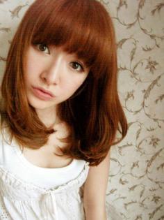 梨花头发型图片diy 各种脸型适合的发型