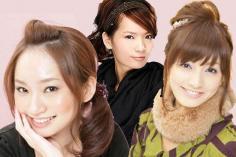 最新发型图片 名媛发型diy盘发步骤