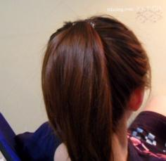 长发花苞头扎法 优雅非主流女生花苞头