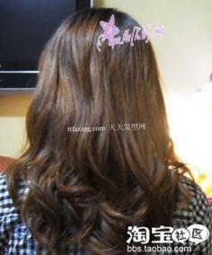 如何扎出漂亮的花苞头 炫目发色+韩国花苞头