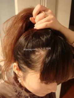 中发花苞头扎法 超多韩式花苞头扎法