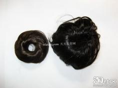 浪漫短发花苞头的扎法 短头发花苞头