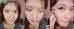 混血妆的画法步骤详解 画出深邃双眼展现立体轮廓