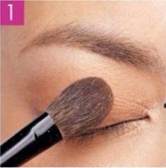 自然垂眼妆的画法图解 一分钟就学会