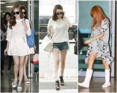韩星夏季怎么穿 清凉的夏日搭配