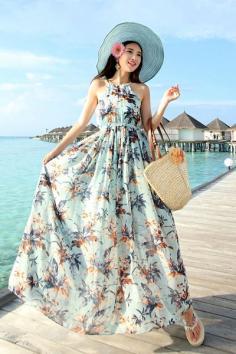 波西米亚风格长裙女装 浪漫与自由的小资情调