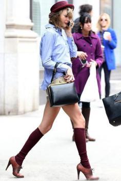 欧美明星街拍 学习明星时尚搭配