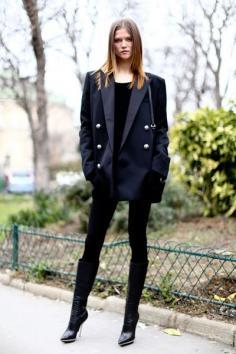 欧美范女装搭配 造型多变个性张扬
