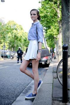 欧美街拍服装搭配 诠释独特的时尚魅力