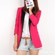最美的玫红装扮 玫红色西装搭配技巧