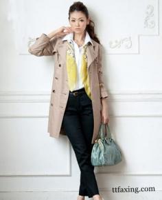 OL通勤女装搭配 穿出知性气质