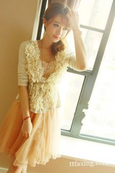 大气蓬松的网纱连衣裙推荐 清纯脱俗充满灵气