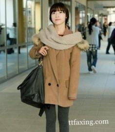 冬季围巾搭配法则 轻松巧搭超养眼