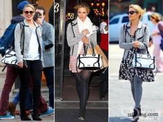 最爱时尚包包 看欧美明星包包街拍