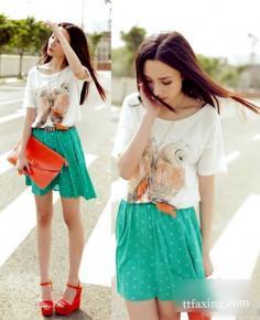 夏季小短裙 穿出完美身材