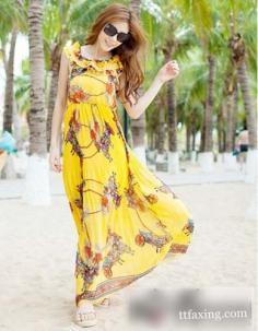 波西米亚长裙搭配推荐 五一出行最佳选择