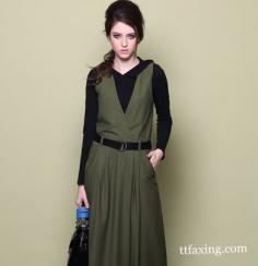秋装新款女装连衣裙怎么搭配显瘦又优雅