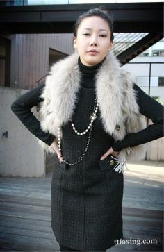 皮草怎么搭配 穿出女人的优雅风情