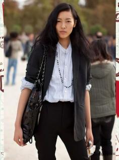 名模刘雯最新街拍元素推荐 引领2014欧美最新街拍时尚