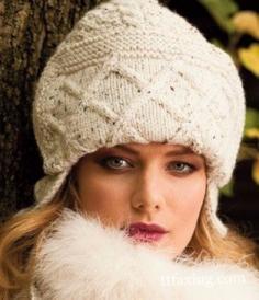 淑女帽子的编织方法图解 diy出冬季的温暖