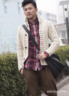 男士哈伦裤搭配图片 型男就要这样穿
